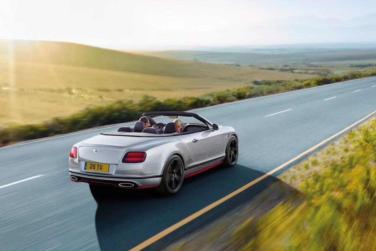 Faceliftet Bentley Continental GT Speed er blevet mere potent