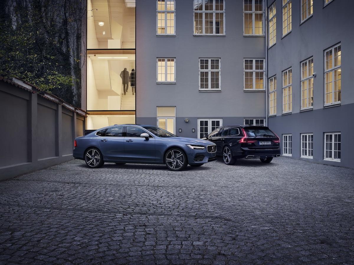 Volvo S90 og V90 med R-Design!