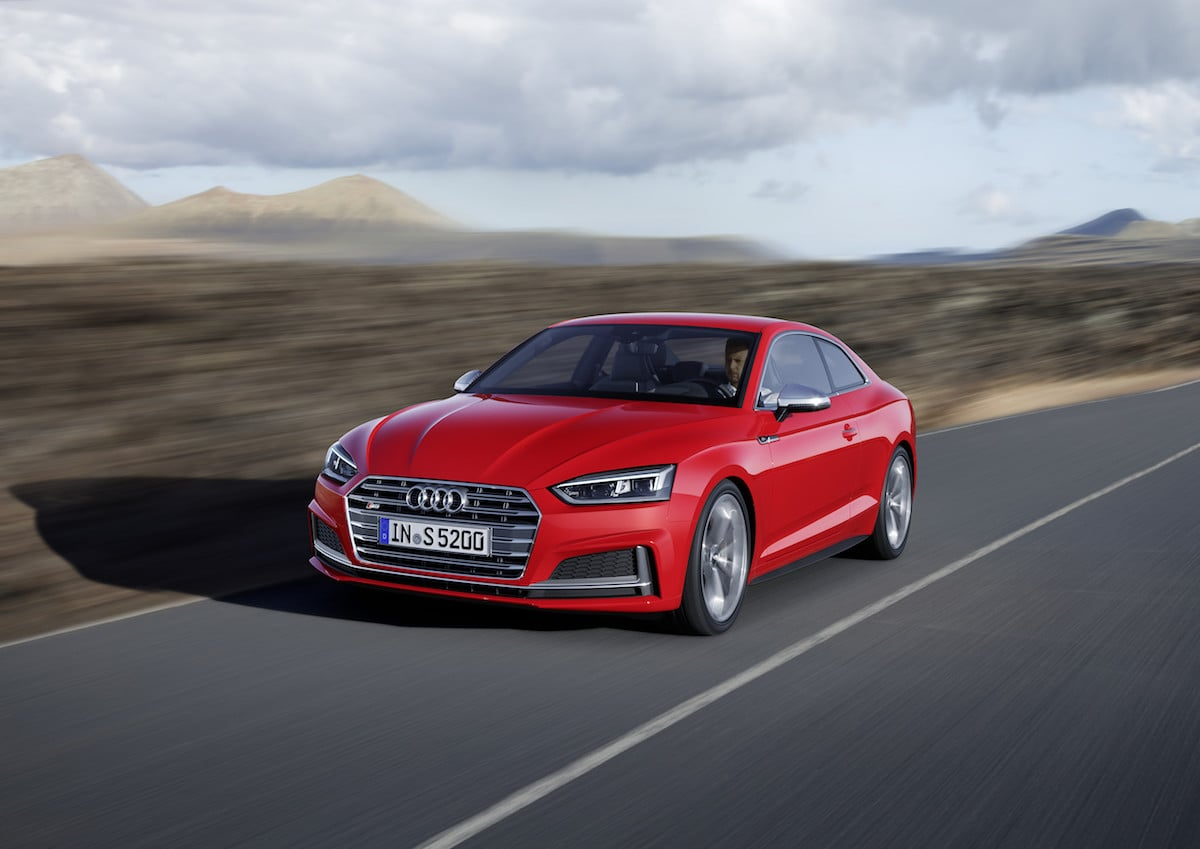 HER ER DEN: Ny Audi A5 og S5 Coupé