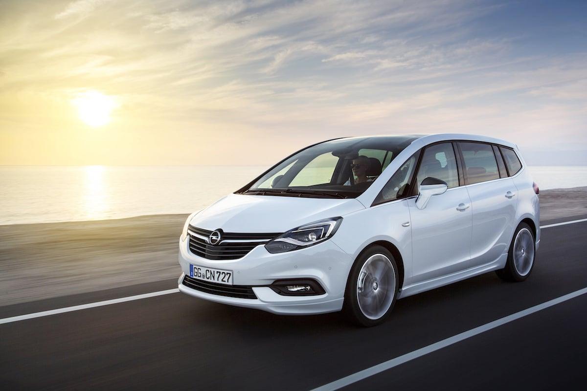Opel viser fornyet Zafira