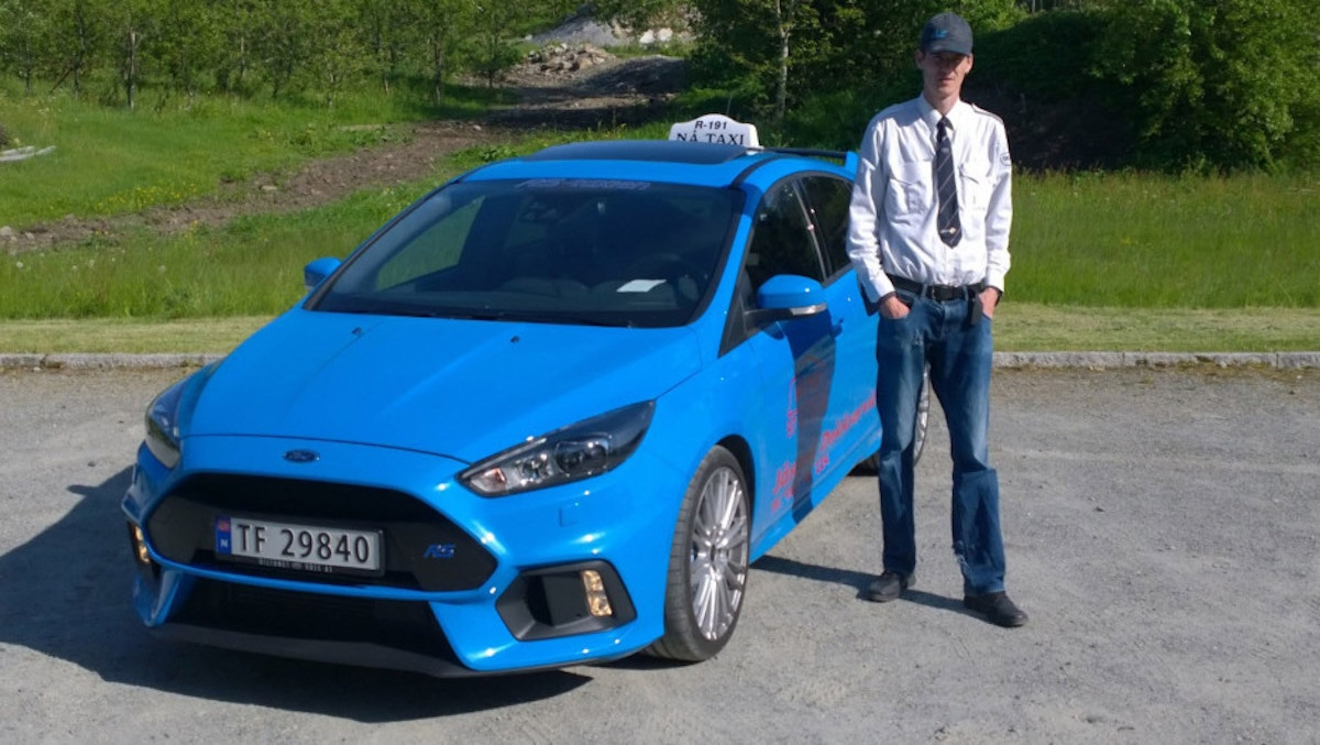 Norges sejeste taxi er en Ford Focus RS