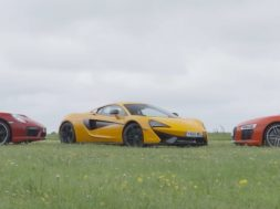 McLaren 570S vs Audi R8 V10 Plus vs Porsche 911 Turbo S