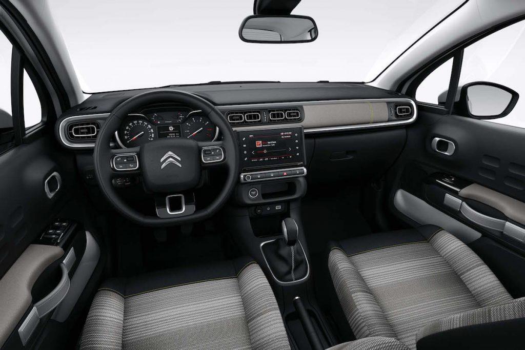 Ny Citroën C3 kabine