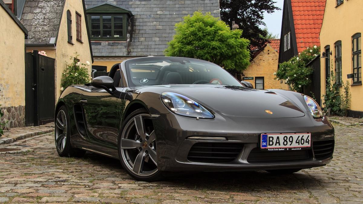 Test: Porsche 718 Boxster – topløst vidunder
