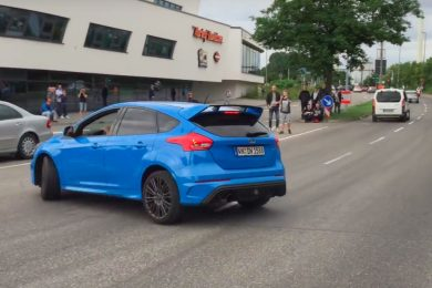 ford focus rs drift video