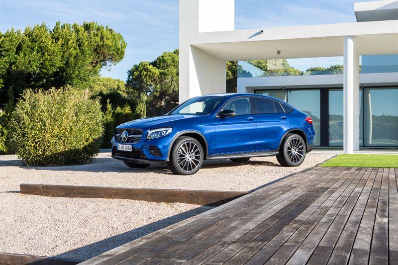 Ny Mercedes GLC Coupé fra 770.700 kr.