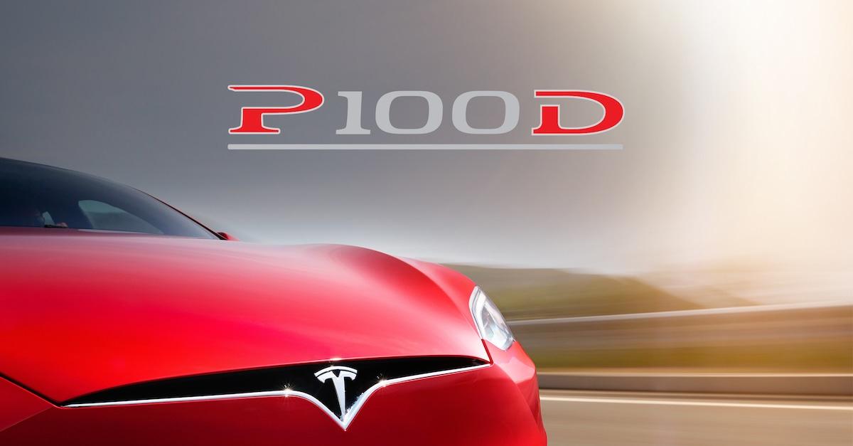 Ny Tesla Model S P100D Ludicrous er verdens hurtigste produktionsbil!