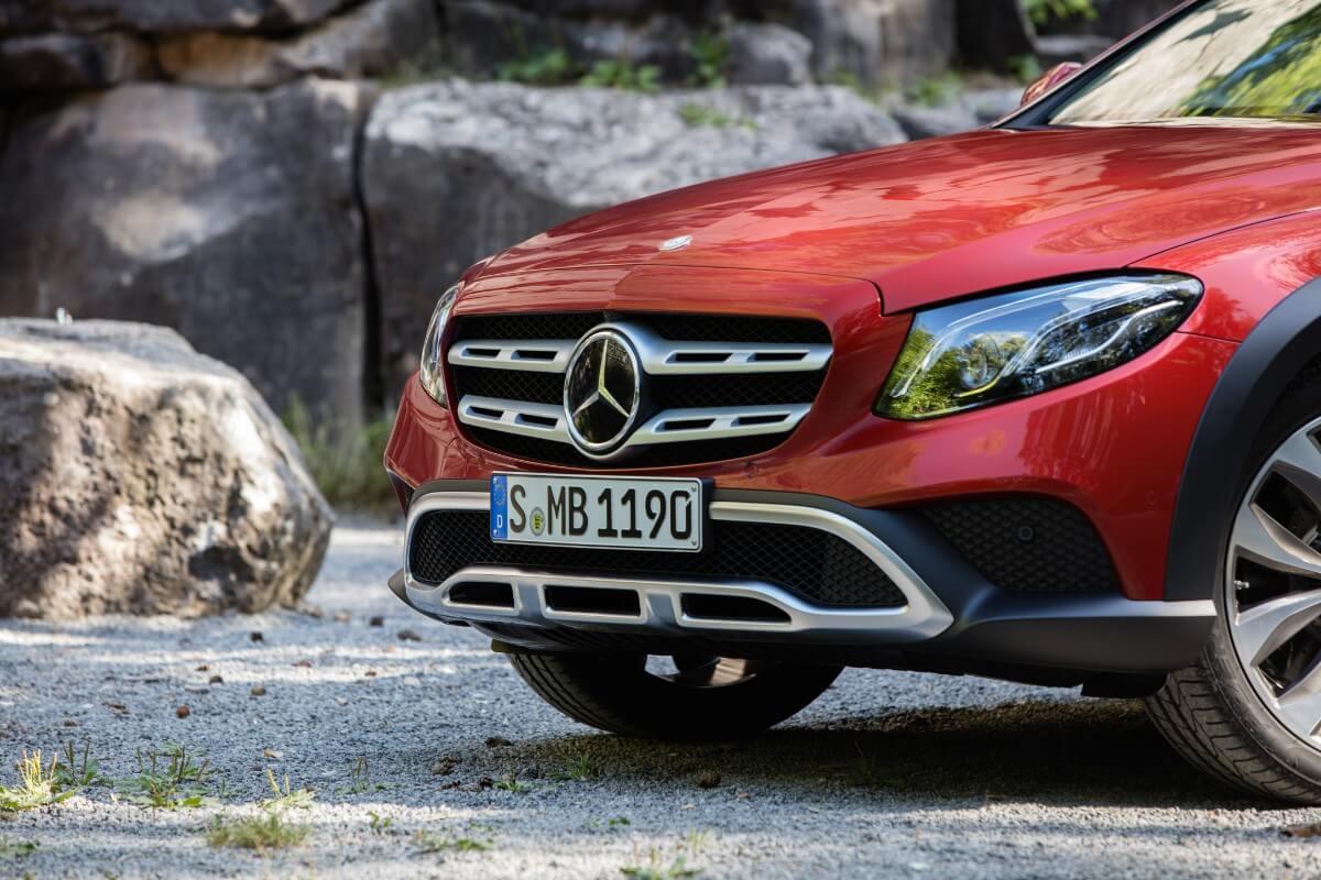 Over stok og sten – Mercedes E-Klasse All-Terrain