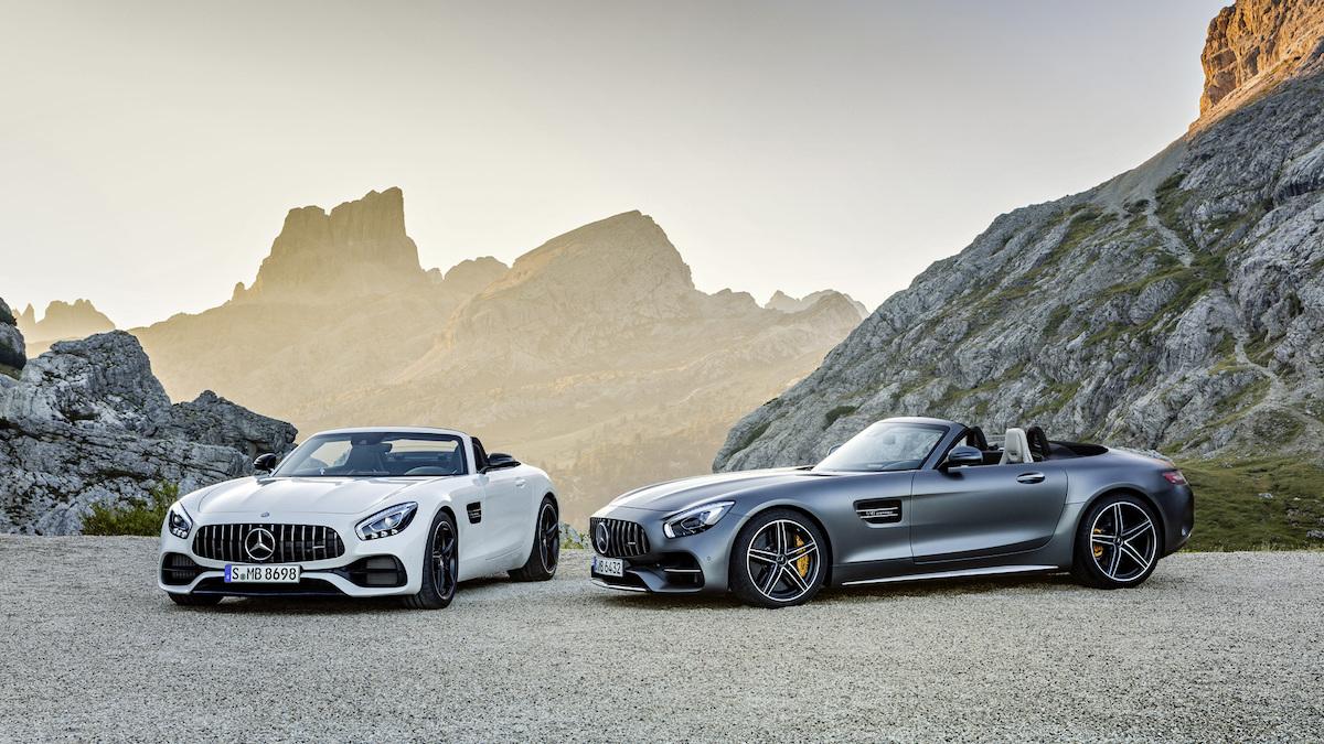 Mercedes-AMG GT C: Topløs og 0-100 på blot 3,7 sekunder