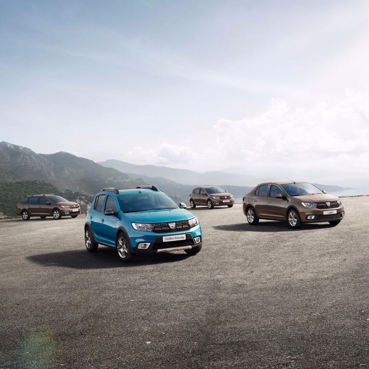 Dacia giver fire modeller facelift