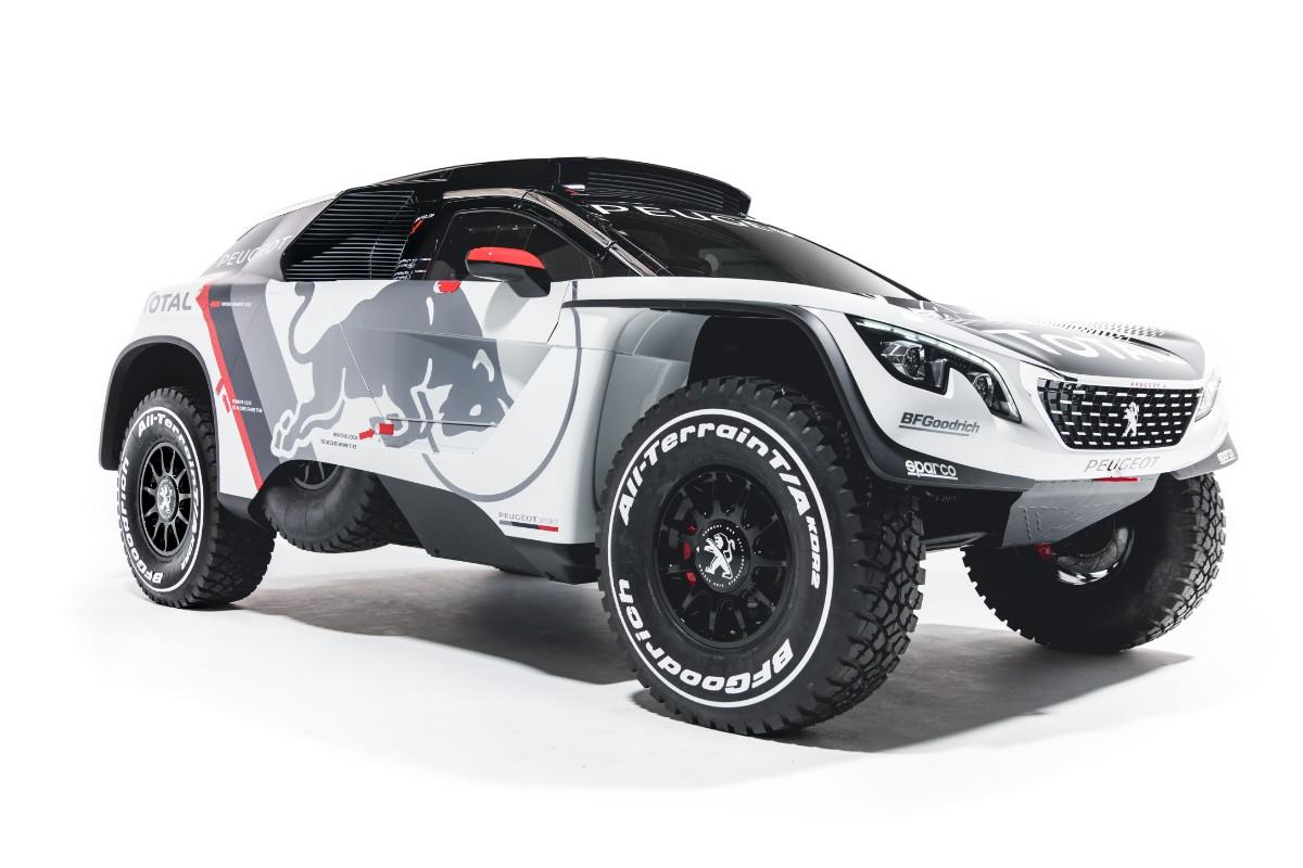 Klar til Dakar 2017 – Se den nye rally-Peugeot