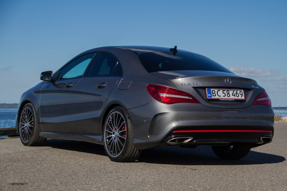 test mercedes cla 250 sport 4matic hurtig og sjov men. Black Bedroom Furniture Sets. Home Design Ideas