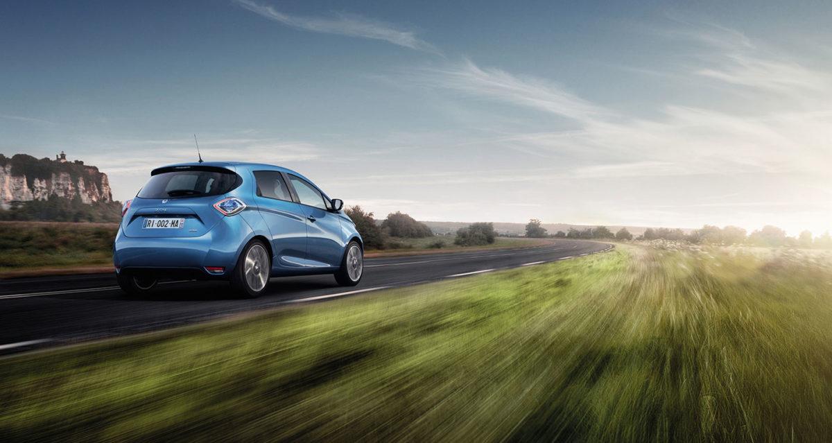 Renault lover 400 km på ren strøm i Zoe