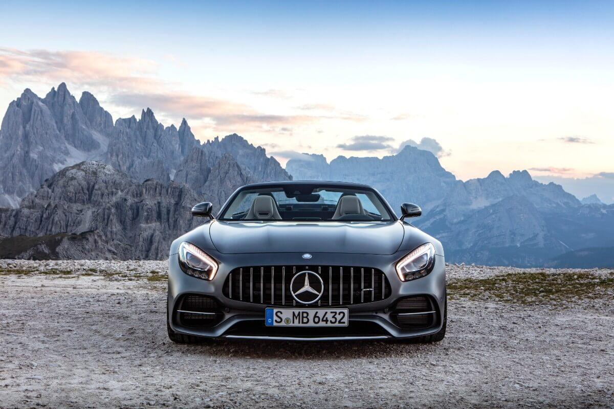 Mercedes sender tre nye AMG GT'er på gaden