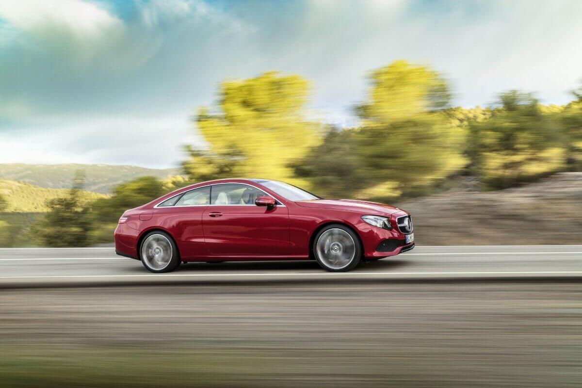 Ny elegant E-Klasse coupé fra Mercedes-Benz