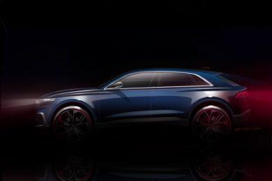 Audi Q8 concept – design sketch