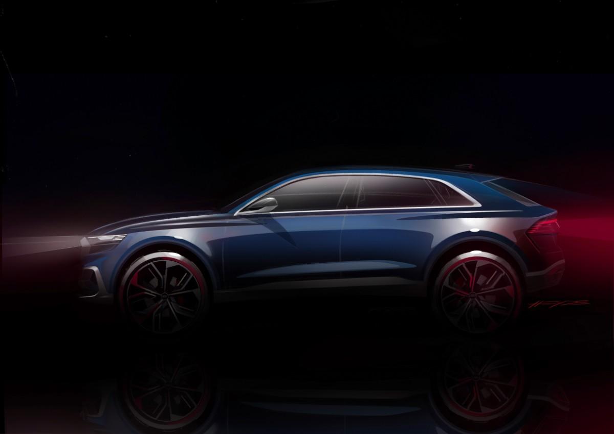 Audi viser Q8 koncept i Detroit