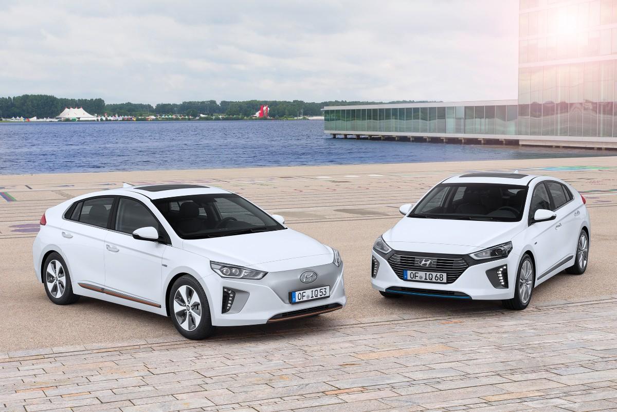 Hyundai IONIQ scorer fem stjerner i Euro NCAP