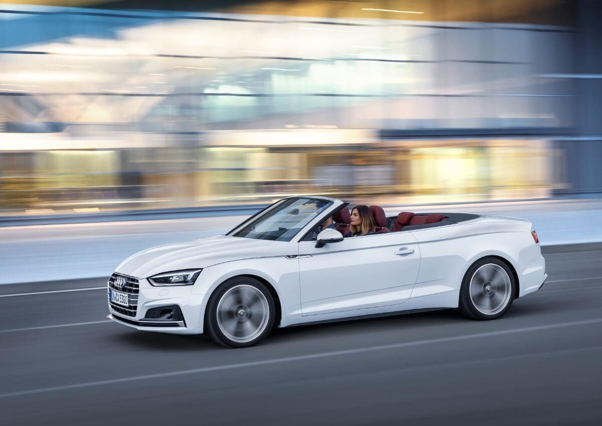 Her er den – Fed ny Audi A5 Cabriolet