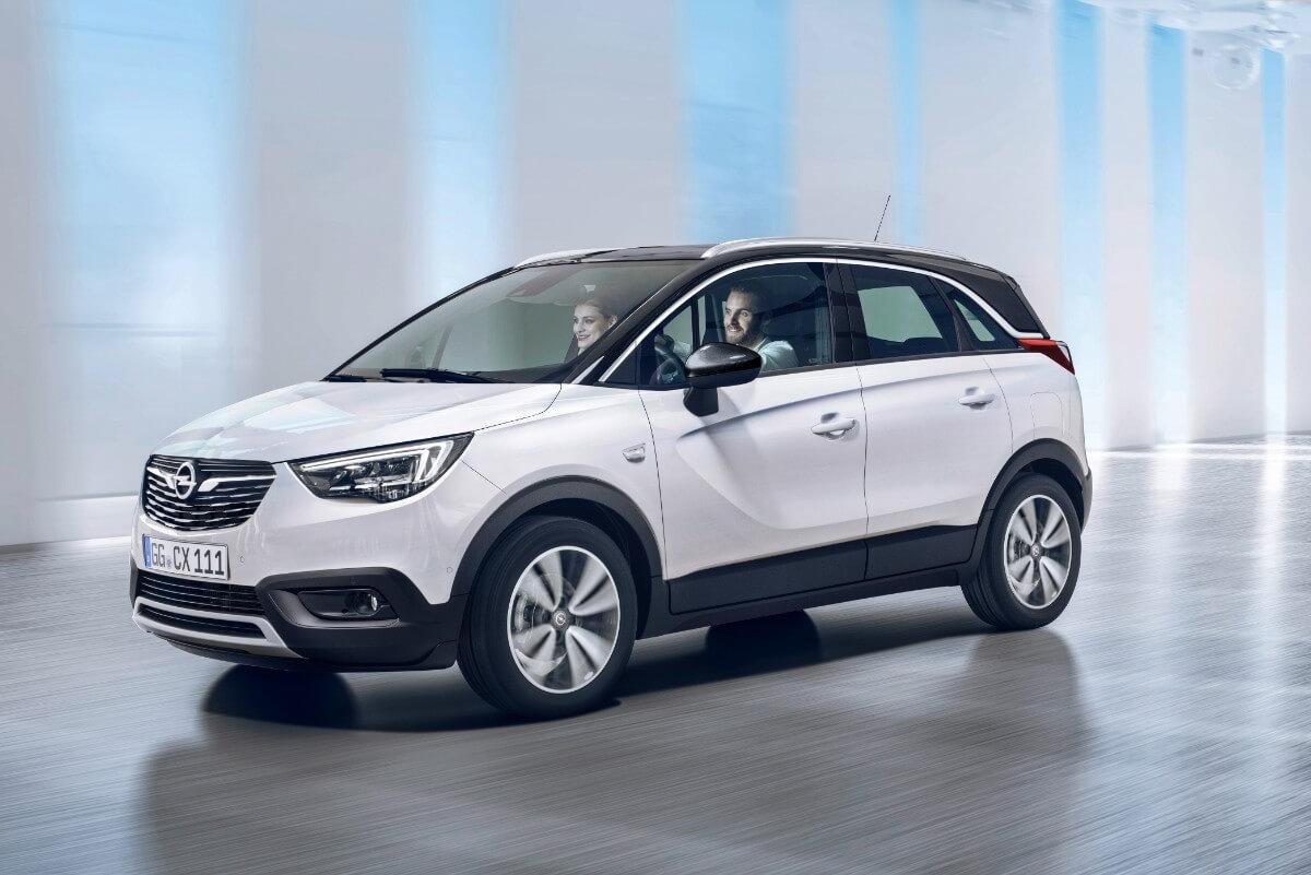 Her er de første fotos af ny Opel Crossland X
