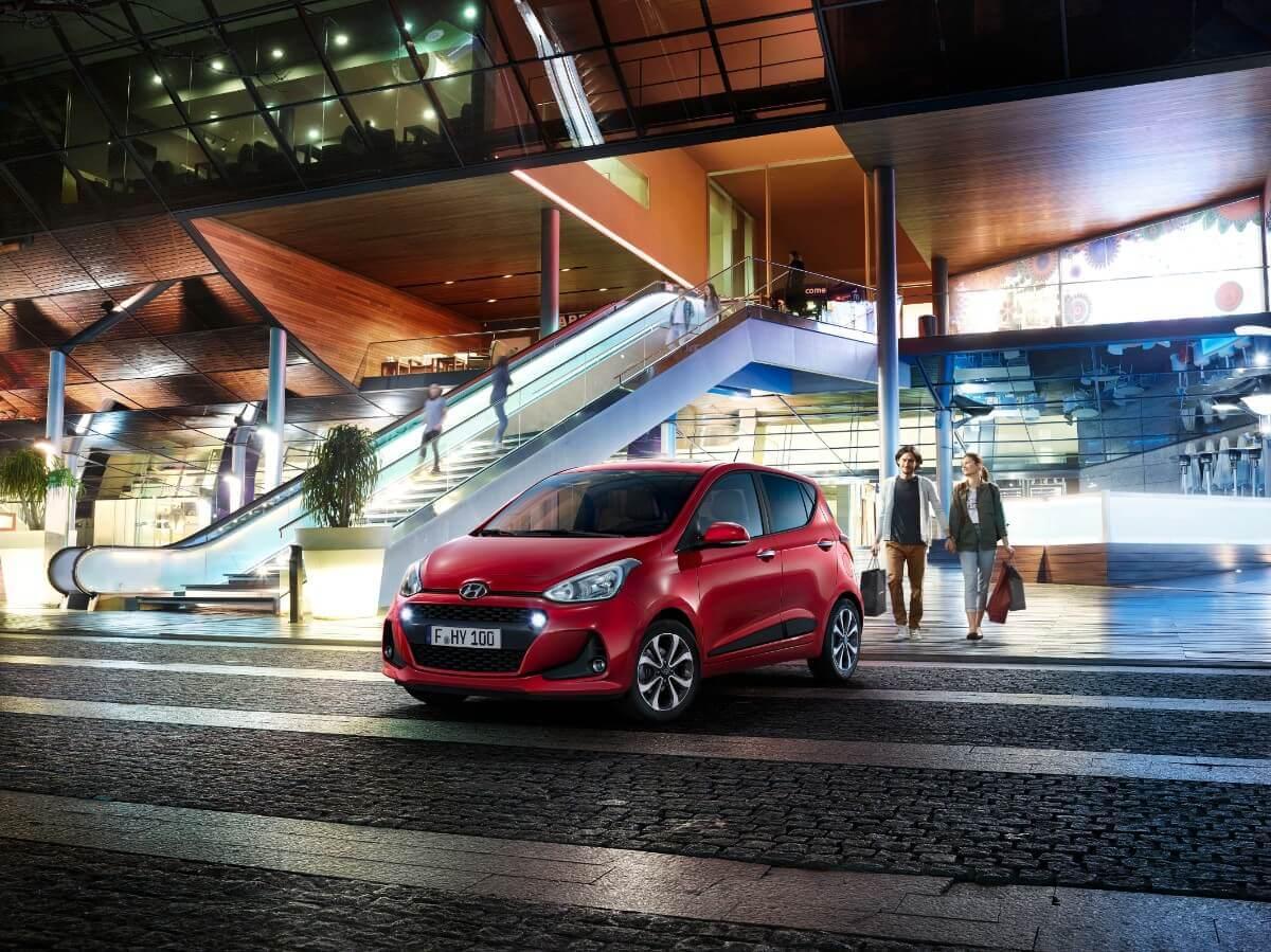 Hyundai i10 får et facelift