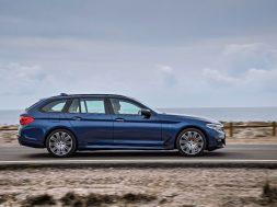 BMW 5-serie Touring – Kørebillede