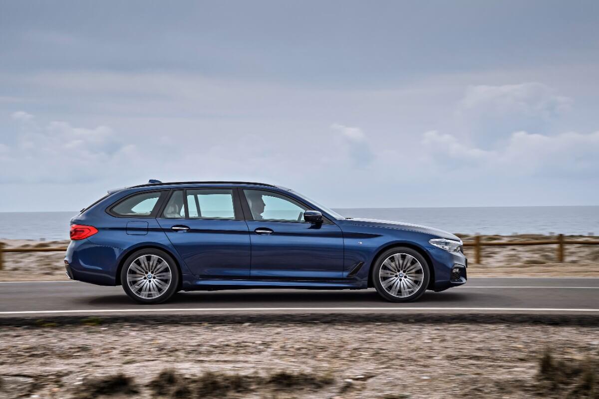 Se billederne – Ny BMW 5-serie Touring