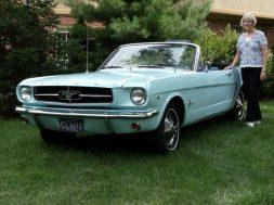 Første Mustang i Verden
