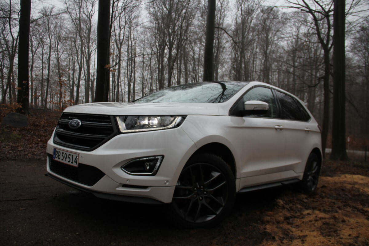 Test: Ford Edge Sport – Voksen SUV med US-gener