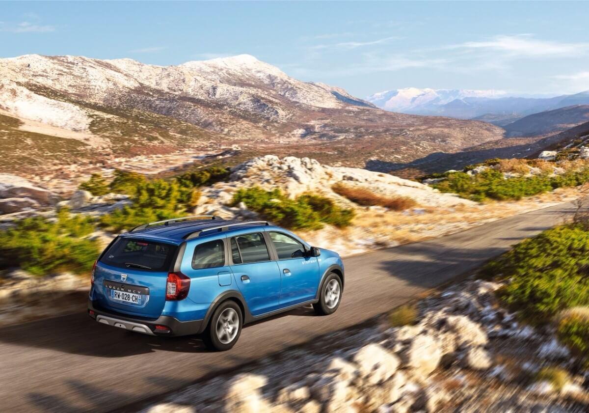 Højbenet Logan fuldender Dacia-programmet