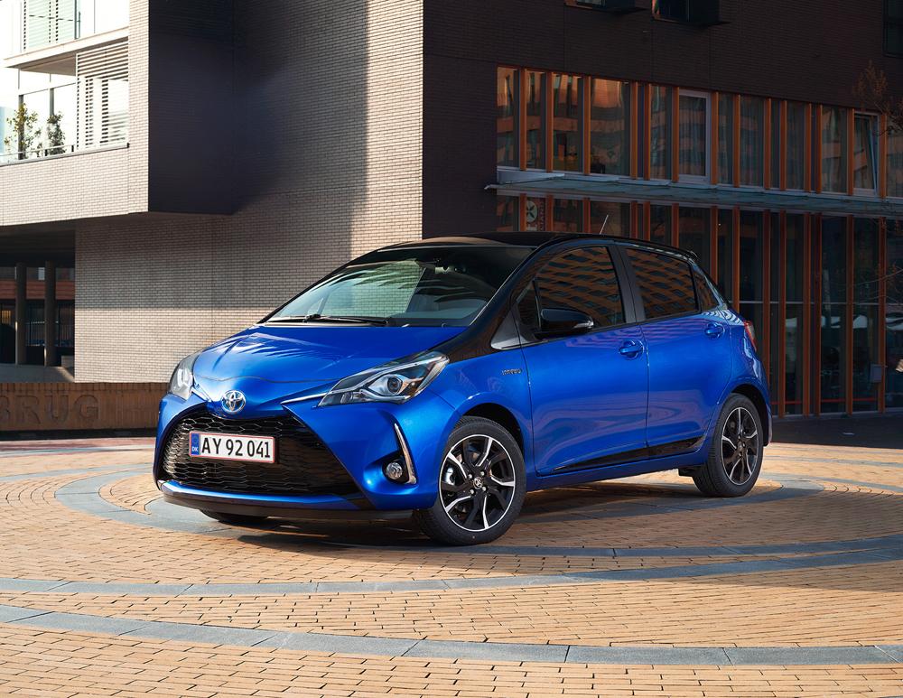 Danmarkspremiere på ny Toyota Yaris