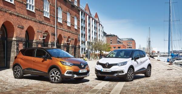 Facelift til Renault Captur