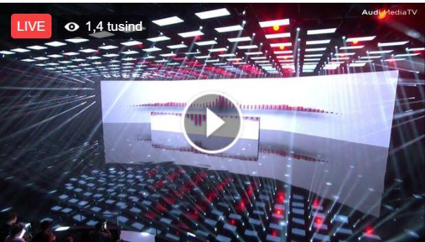 LIVE! Audi præsenterer den nye A8