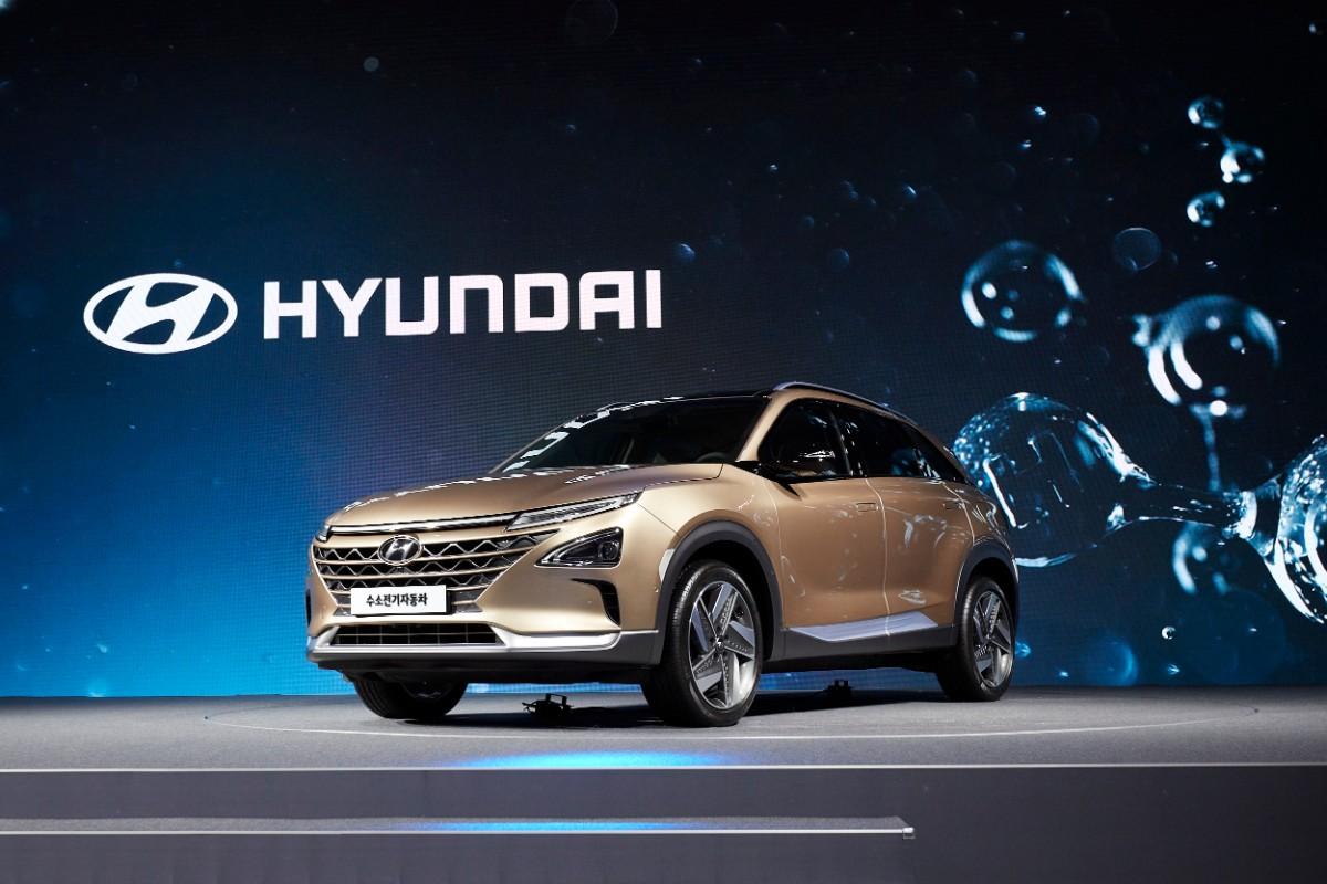 Hyundai løfter sløret for ny brint-bil