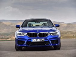 BMW M5 – forfra
