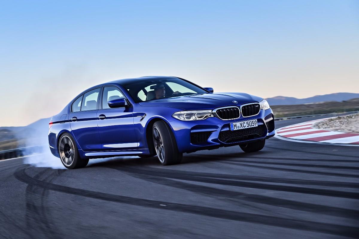 BMW M5 – på bane