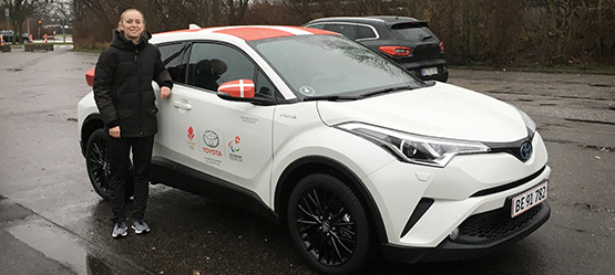 Toyota sponsorerer para-atleter