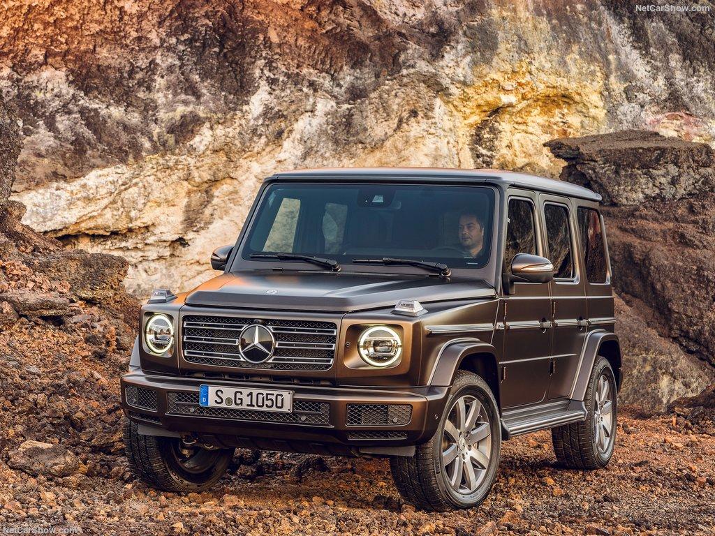 Ny G-Klasse – Mere luksus, LED og læder i den nye generation