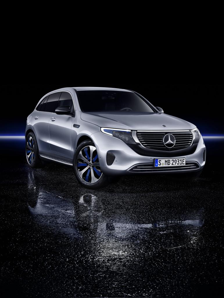 Nu går Mercedes for alvor el-amok