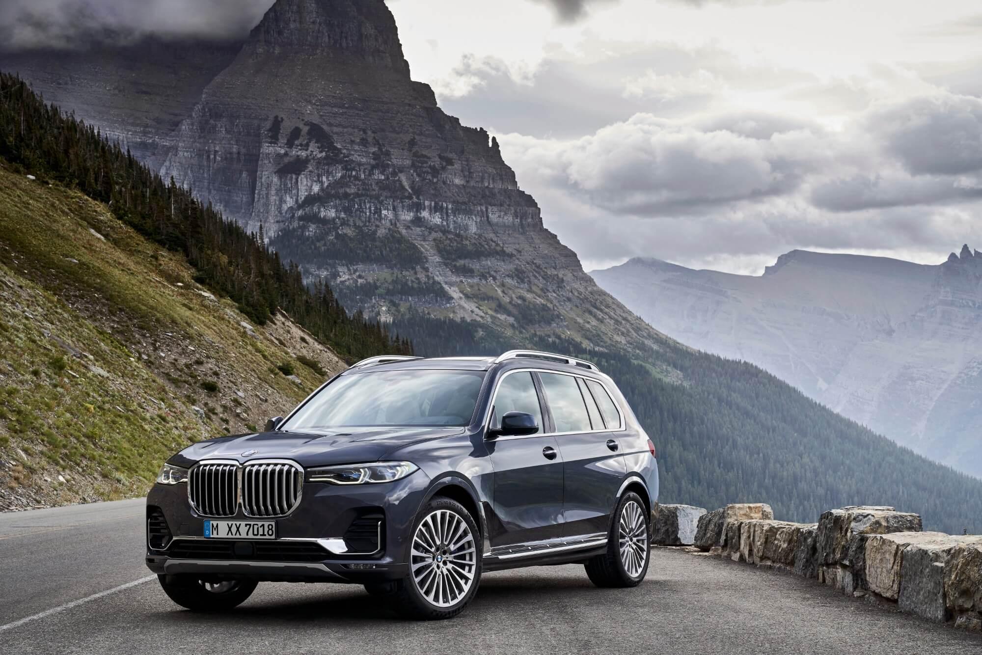 X7 –ny BMW i mammut-klassen