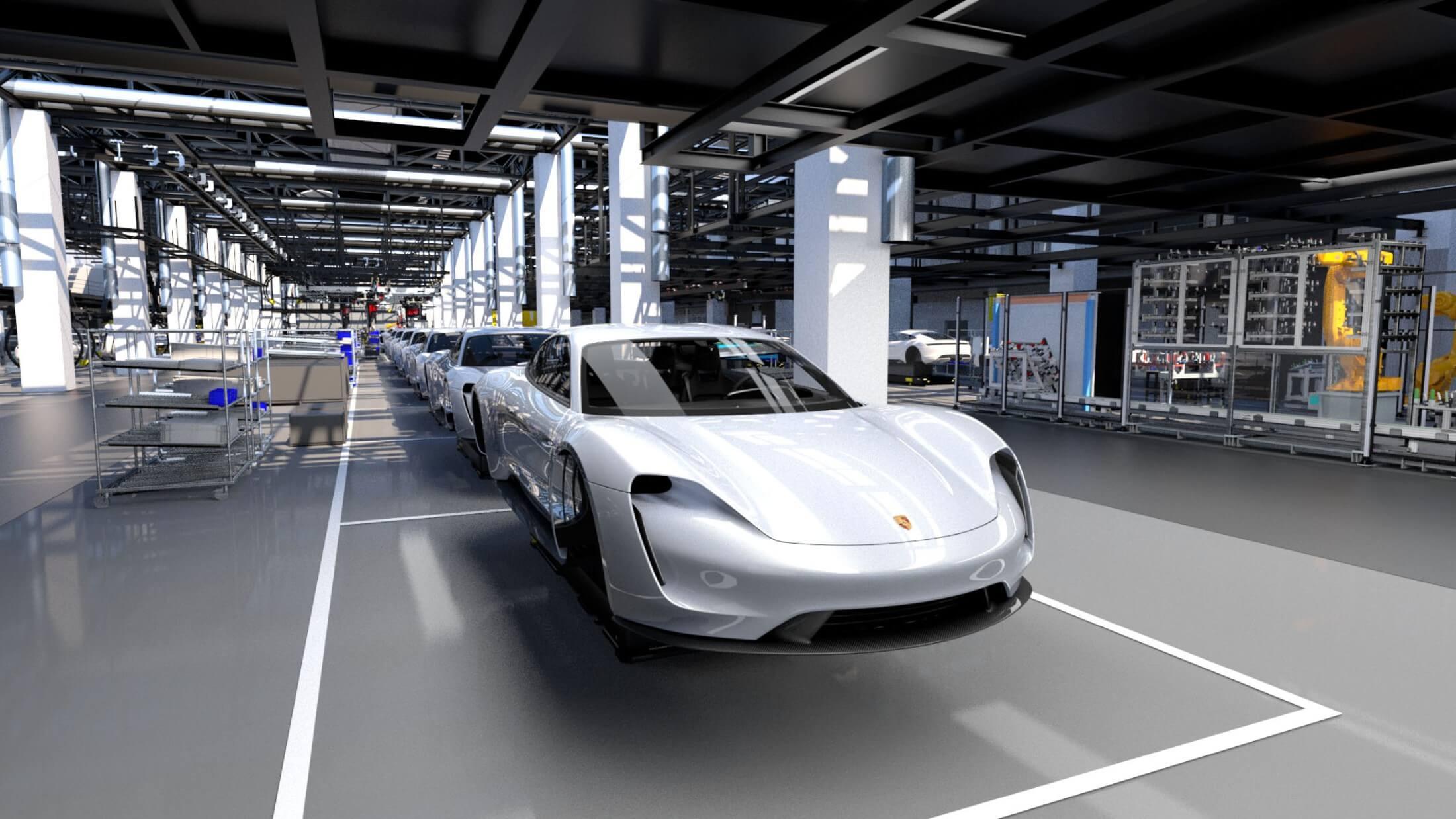 Taycan skal elektrificere Porsche