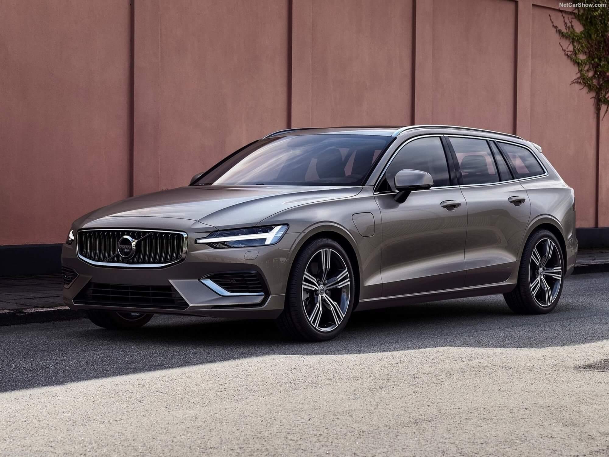 Dansk erhvervsliv foretrækker Volvo V60