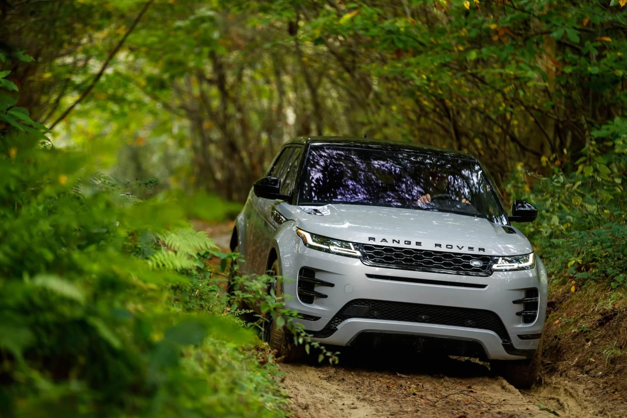 Range Rover fornyer deres mindste