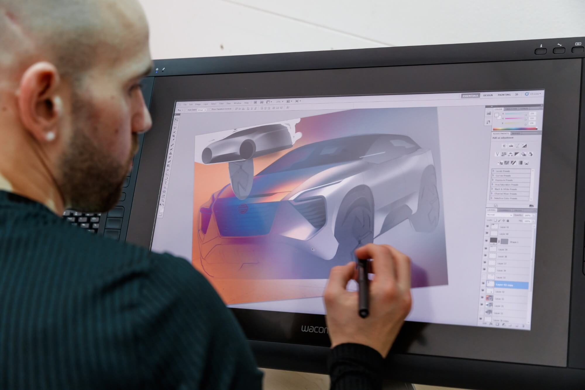 Hemmelighederne står i kø på Nissans designcenter