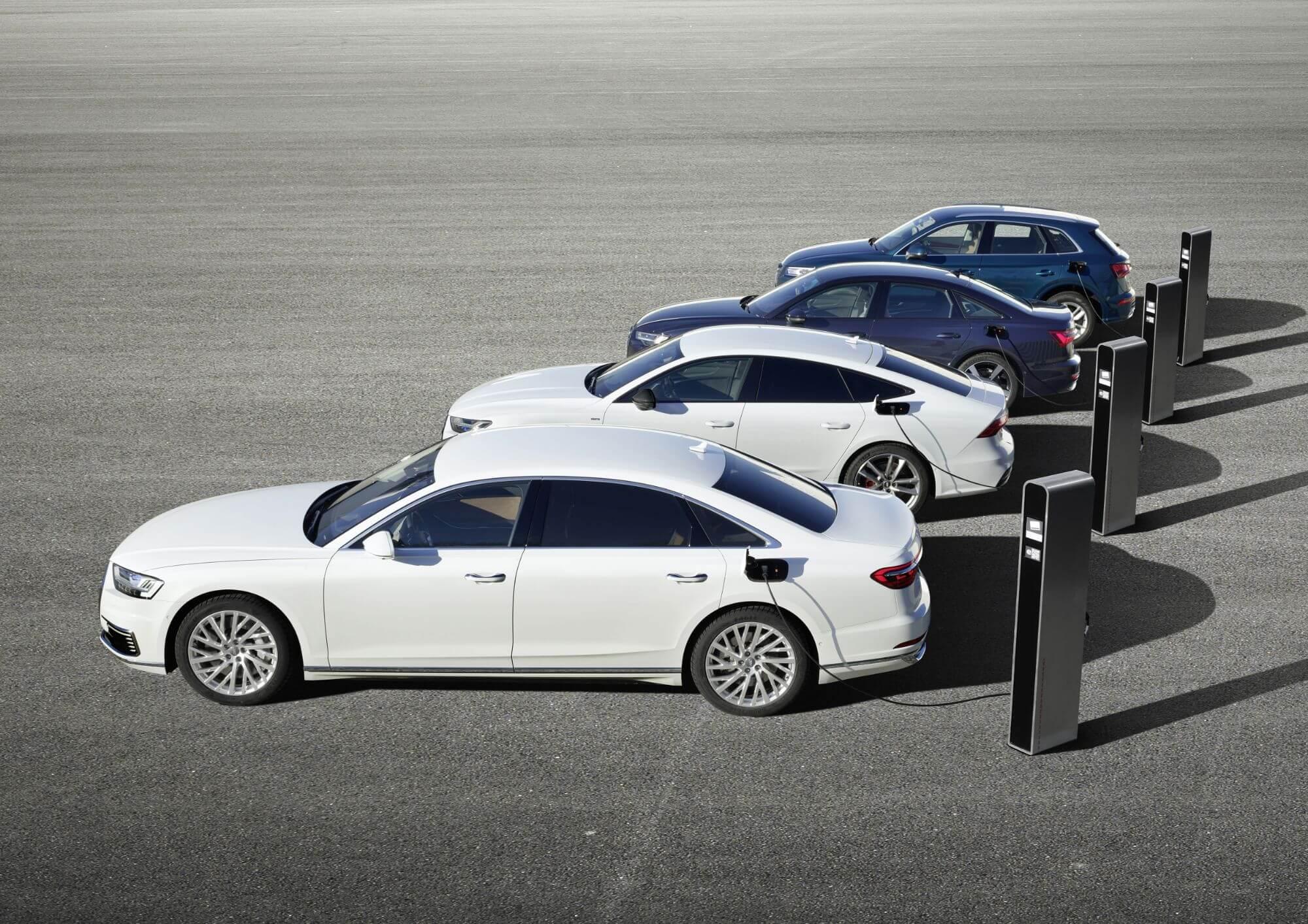 Endelig: Audi i offensiv plugin-hybrid-lancering