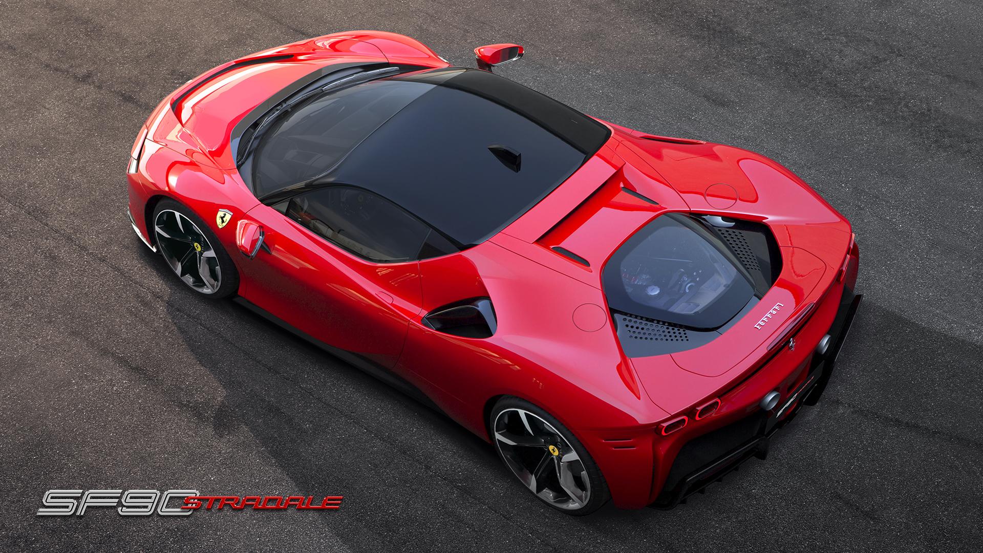Ferrari viser stærkeste model nogensinde