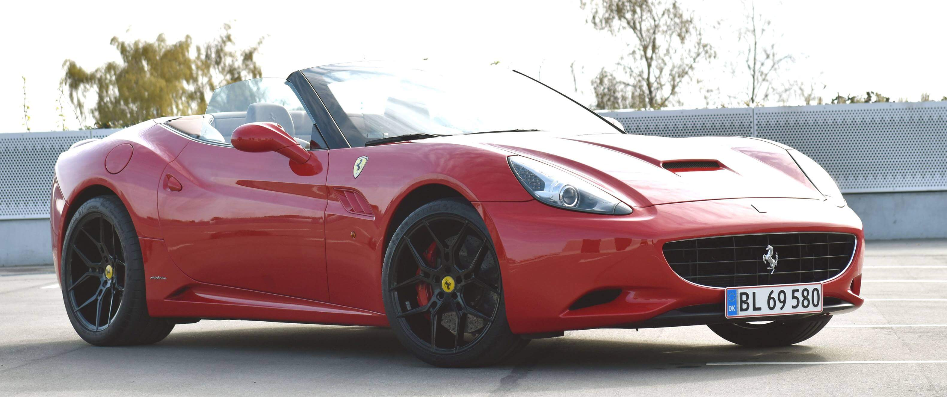 Dom: Ferrari larmede for meget ved 38 km/t